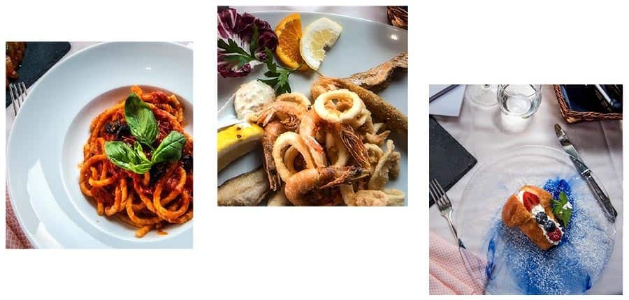 Al Ristoro del Moro menu
